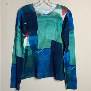 The Script Wool Cashmere Blend NWT Sweater/Top